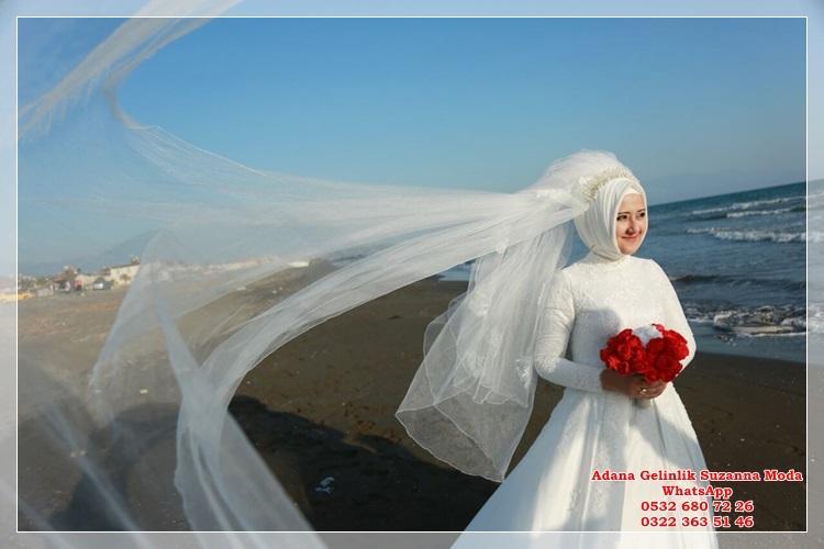 1c923884b5009 Adana Gelinlik 2019 -2020 Gelinlik Modelleri Suzanna Moda Özel Tasarım